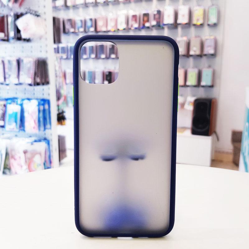 Ốp lưng iPhone X chống vân tay Aolibao xanh than