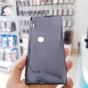 Ốp lưng điện thoại clear view cho samsung đen3