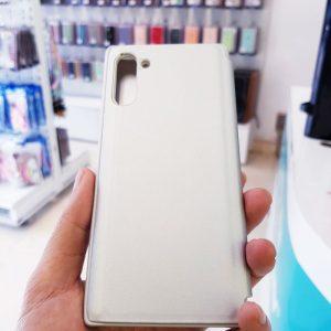 Ốp lưng điện thoại clear view cho samsung trắng3