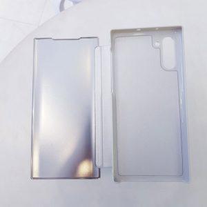 Ốp lưng điện thoại clear view cho samsung trắng1