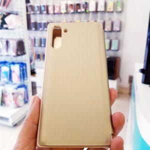 Ốp lưng điện thoại clear view cho samsung vàng3