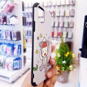 Ốp lưng điện thoại sói dễ thương4