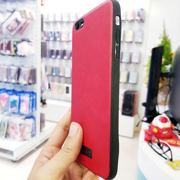 Ốp lưng điện thoại Sulada da đỏ3