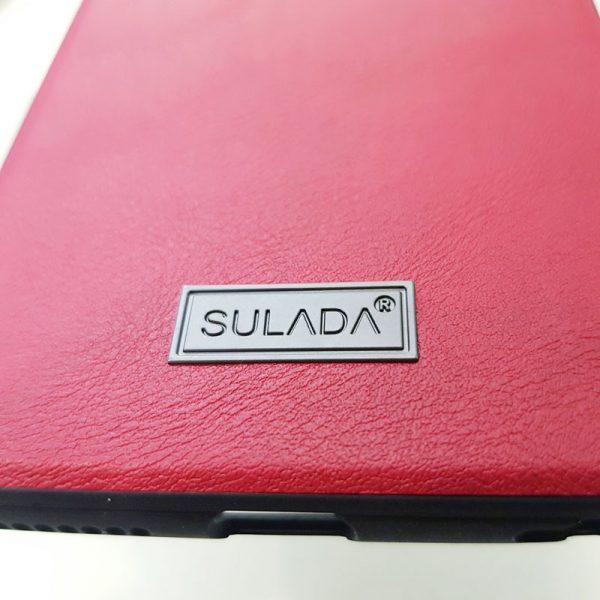 Ốp lưng điện thoại Sulada da đỏ1