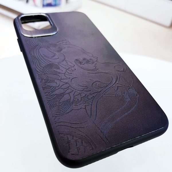 Ốp lưng điện thoại da họa tiết 3D6