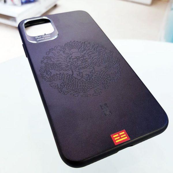 Ốp lưng điện thoại da họa tiết 3D18