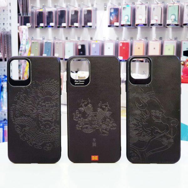 Ốp lưng điện thoại da họa tiết 3D13