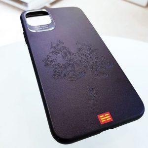 Ốp lưng điện thoại da họa tiết 3D9