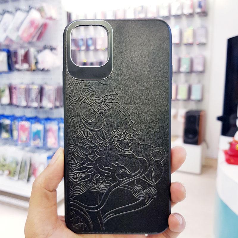 Ốp lưng điện thoại da họa tiết 3D7