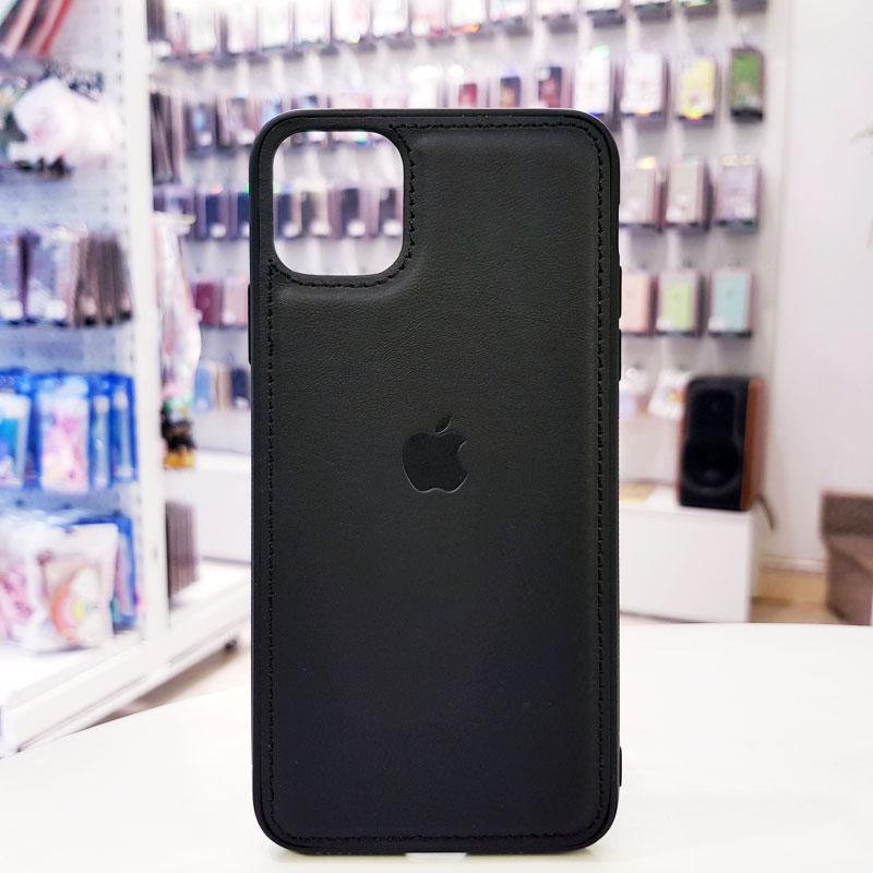 Ốp lưng iPhone X bằng da giá rẻ biểu tượng quả táo