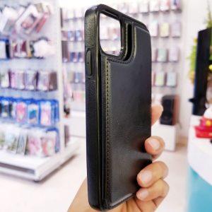 Ốp lưng điện thoại da ví sau lưng đen4