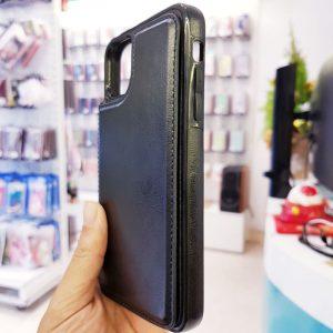 Ốp lưng điện thoại da ví sau lưng đen3