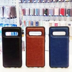 Ốp lưng điện thoại samsung bằng da ví sau lưng