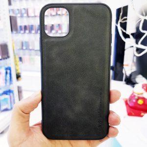 Ốp lưng da điện thoại X-level đen5