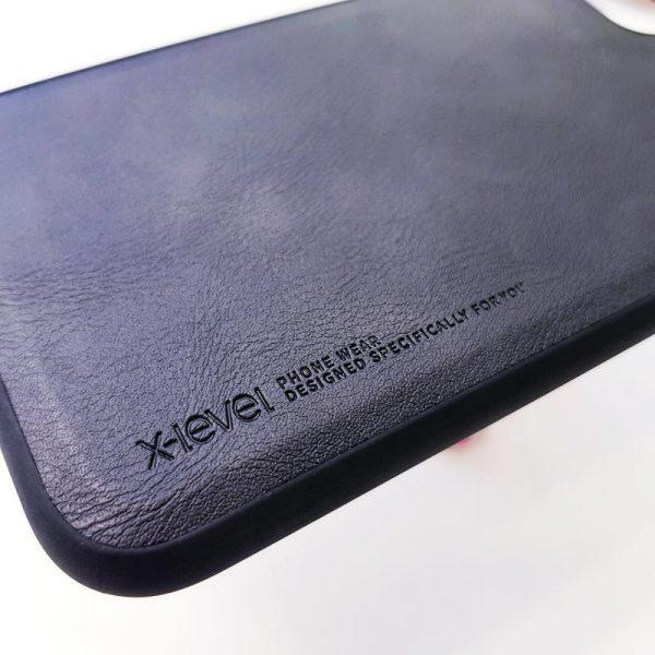 Ốp lưng da điện thoại X-level đen4