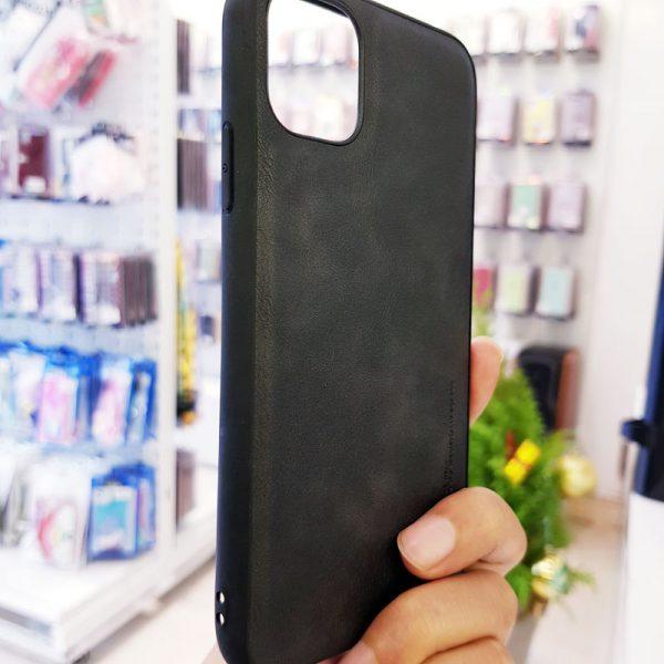 Ốp lưng da điện thoại X-level đen1