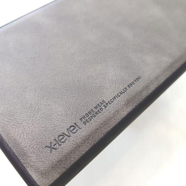 Ốp lưng điện thoại Samsung chính hãng X-Level bạc1