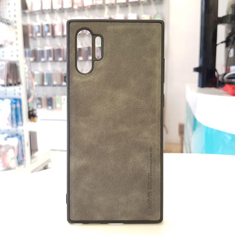 Ốp lưng điện thoại Samsung chính hãng X-Level bạc