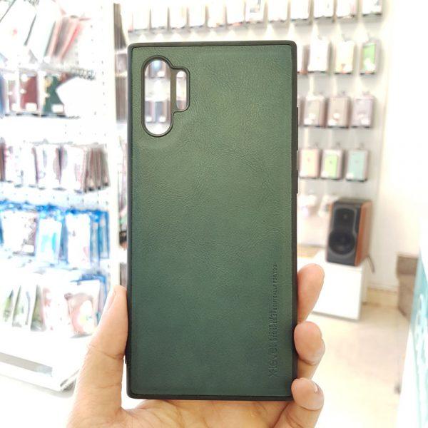Ốp lưng điện thoại Samsung chính hãng X-Level xanh rêu3