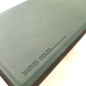 Ốp lưng điện thoại Samsung chính hãng X-Level xanh rêu1