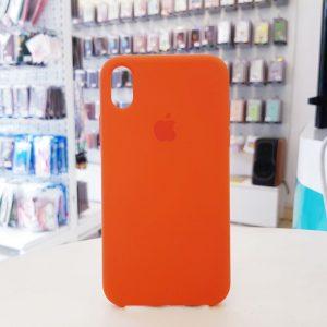 Ốp lưng điện thoại chống bẩn logo táo da cam