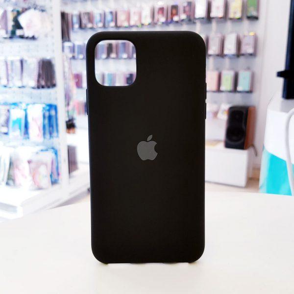 Ốp lưng điện thoại chống bẩn logo táo đen