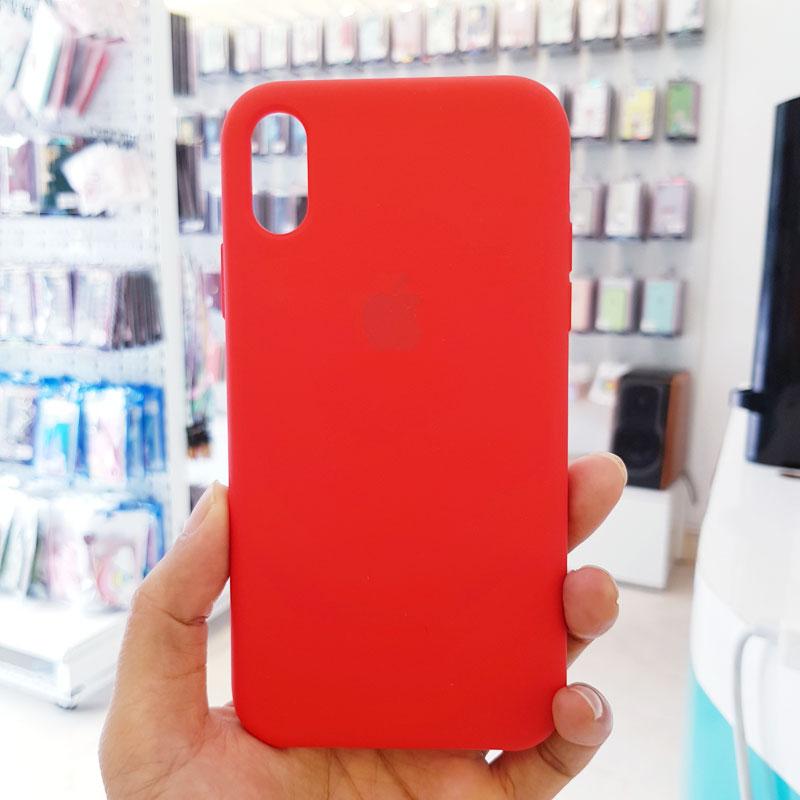 Ốp lưng iPhone 7 Plus giá rẻ chống bẩn logo táo đỏ1