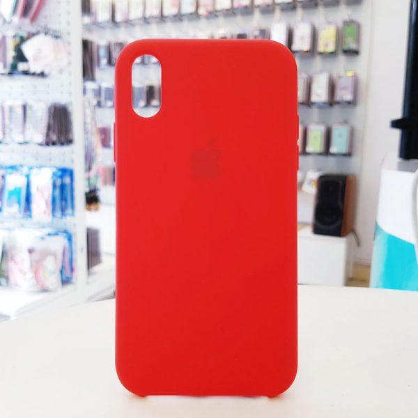 Ốp lưng điện thoại chống bẩn logo táo đỏ
