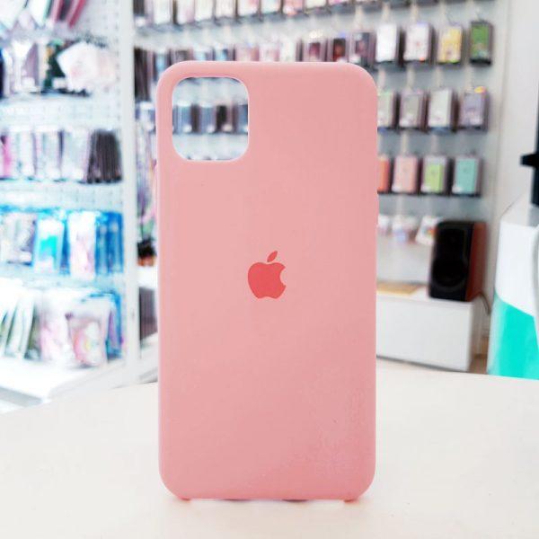 Ốp lưng điện thoại chống bẩn logo táo hồng