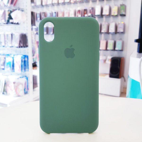 Ốp lưng điện thoại chống bẩn logo táo xanh lá