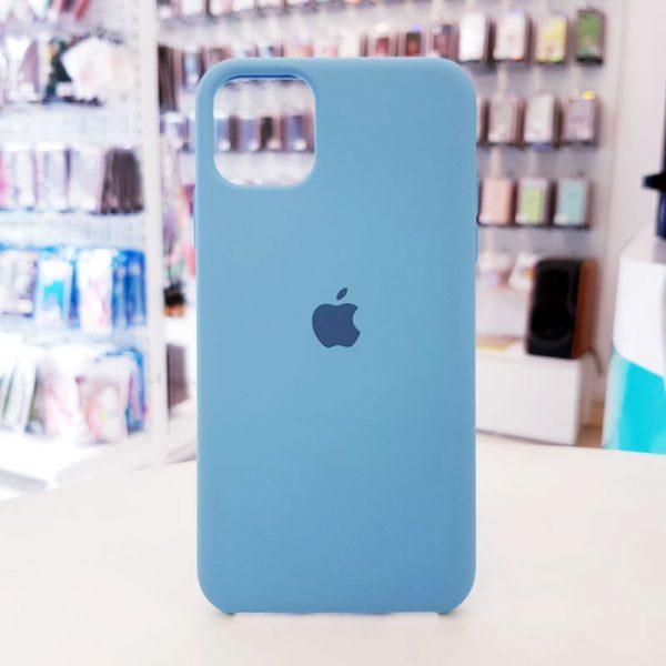 Ốp lưng điện thoại chống bẩn logo táo xanh dương