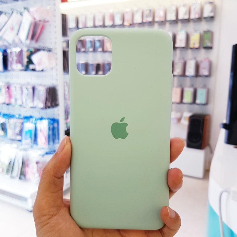 Ốp lưng iPhone 7 Plus giá rẻ logo táo xanh bạc hà1