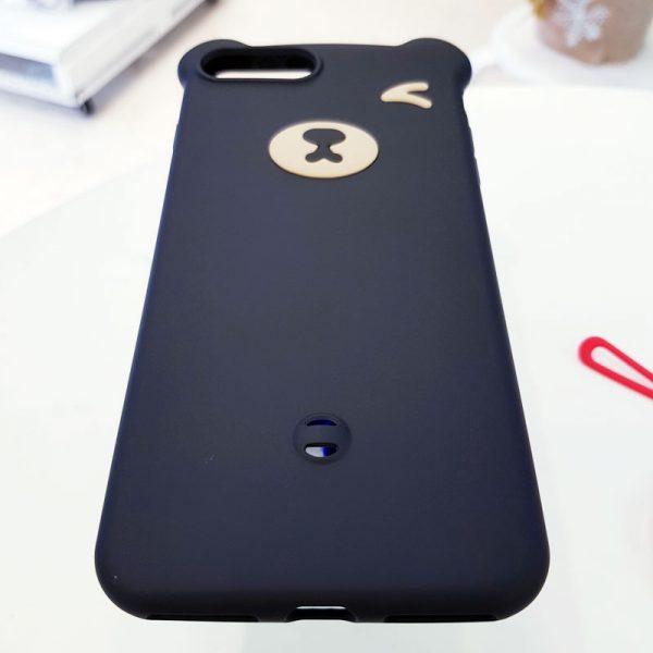 Ốp lưng điện thoại hình gấu đen5
