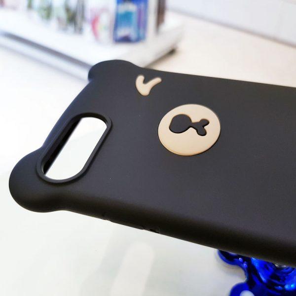 Ốp lưng điện thoại hình gấu đen4