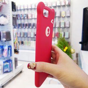 Ốp lưng điện thoại hình gấu đỏ5