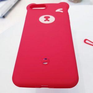 Ốp lưng điện thoại hình gấu đỏ