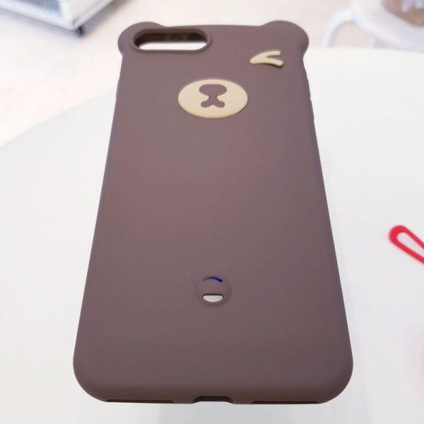 Ốp lưng điện thoại hình gấu nâu đậm1