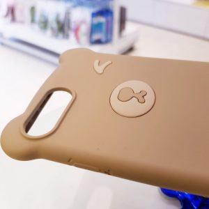 Ốp lưng điện thoại hình gấu nâu nhạt5