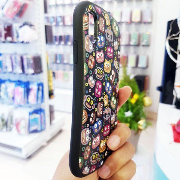 Ốp lưng điện thoại iFace mặt cười đen3