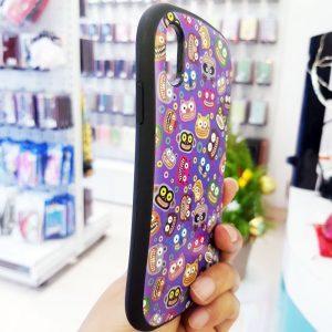Ốp lưng điện thoại iFace mặt cười tím3