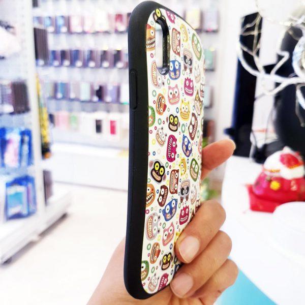 Ốp lưng điện thoại iFace mặt cười trắng3