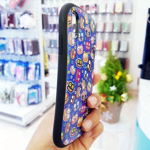 Ốp lưng điện thoại iFace mặt cười xanh dương1