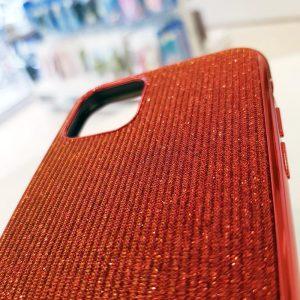 Ốp lưng điện thoại kim tuyến đỏ sang chảnh4