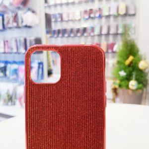 Ốp lưng điện thoại kim tuyến đỏ sang chảnh2