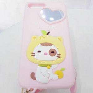 Ốp lưng điện thoại dễ thương lofter hồng