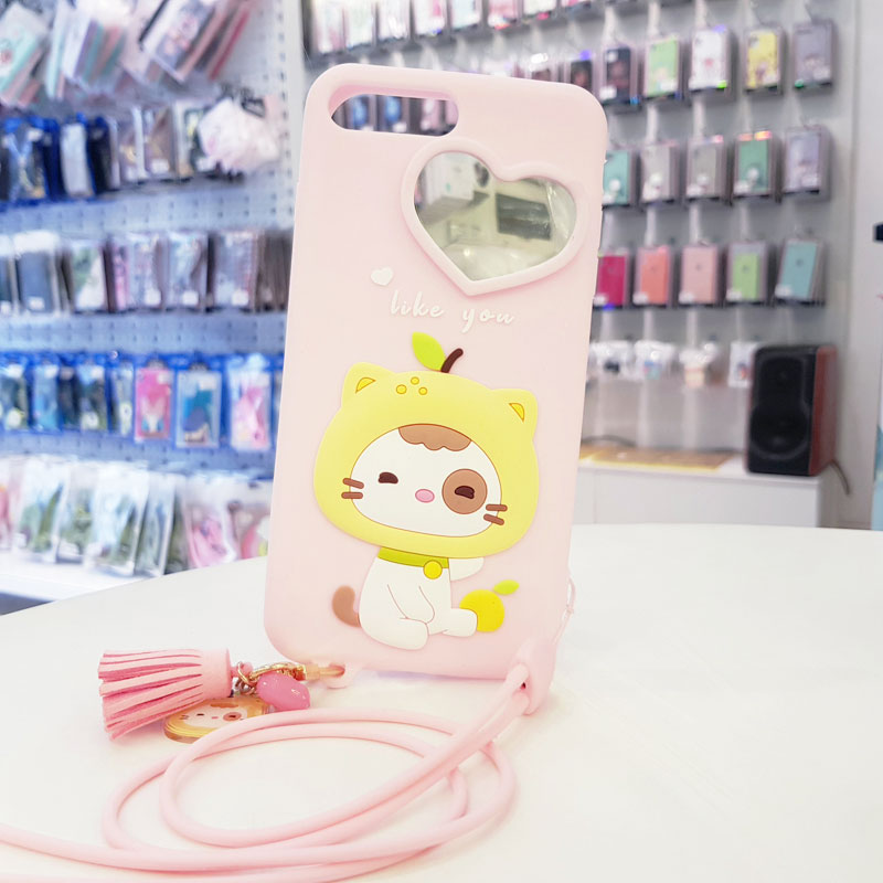 Ốp lưng điện thoại dễ thương lofter hồng4