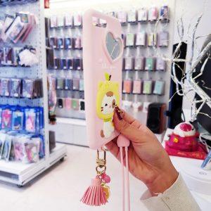 Ốp lưng điện thoại dễ thương lofter hồng2