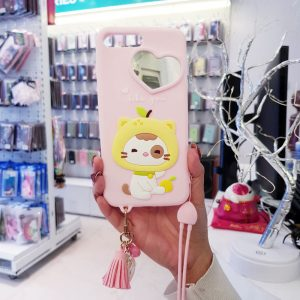 Ốp lưng điện thoại dễ thương lofter hồng1