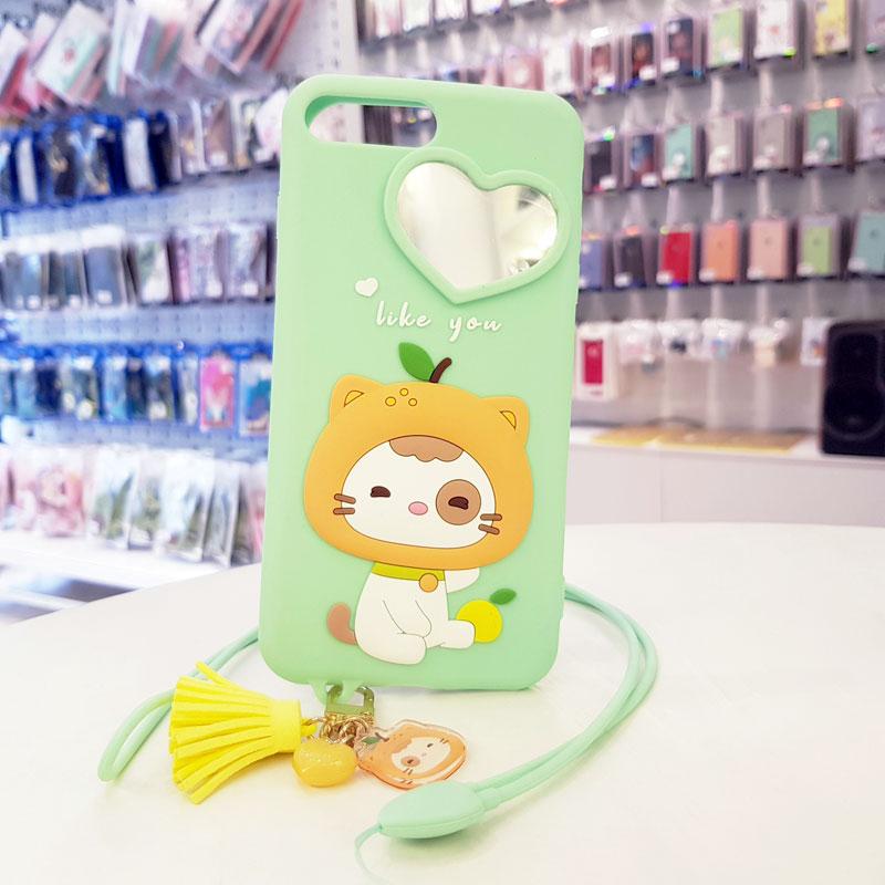 Ốp lưng điện thoại dễ thương lofter xanh mint1