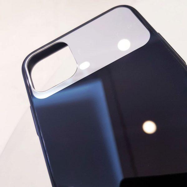 Ốp lưng điện thoại lưng kính gương đen2